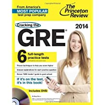 Cracking the GRE with DVD, 2014 Edition (Graduate School Test Preparation) (Cracking the Gre Premium Edition With Sample Tests) by Princeton Review (20-Jul-2013) Paperback