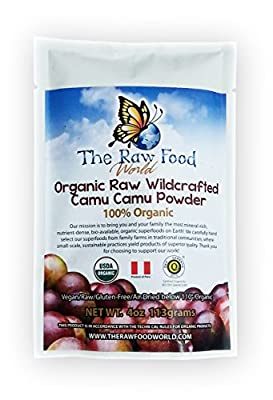 Certified Organic Raw Wildcrafted Camu Camu Powder 4oz
