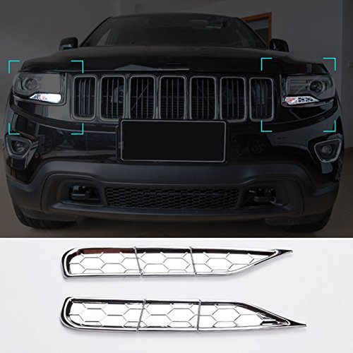 Chrome Front Head Light spray cover JINYIYUAN