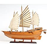 Chinese Junk Wooden Ship Model offers