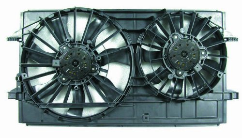 2007 Chevrolet Malibu Radiator - Depo 335-55014-000 Dual Fan Assembly
