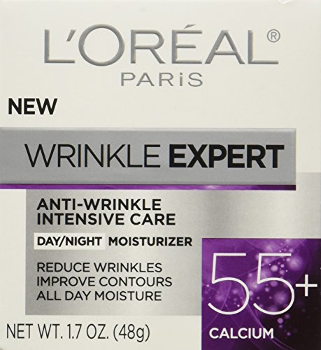 51s8zdHhtpL - L'Oreal Paris Skincare Wrinkle Expert 55+ Anti-Aging Face Moisturizer with Calcium Non-Greasy Suitable for Sensitive Skin 1.7 fl. oz.