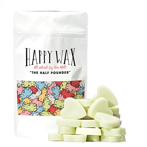 Happy Wax - Sweet Pea Scented Soy Wax Melts | All Natural, Heart Shaped, Soy Wax Tarts Soy Tart