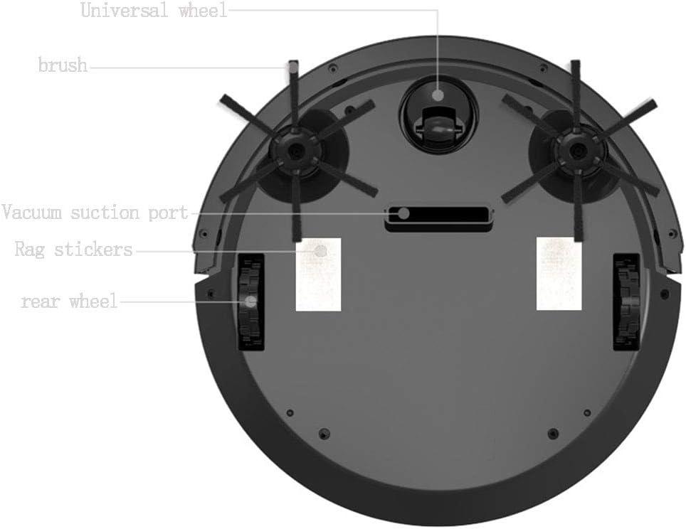 Aspirateur Robot, Aspirateur sans Fil, Aspiration De 1600 Pa, Durée De Fonctionnement Jusqu\'à 80-90 Minutes, pour Un Usage Domestique Au Bureau White