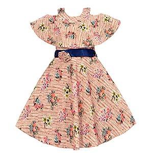 ARK DRESSES Girl's A-Line Knee...