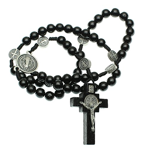 St Benedict Mens Intercession Rosary - Made in Brazil