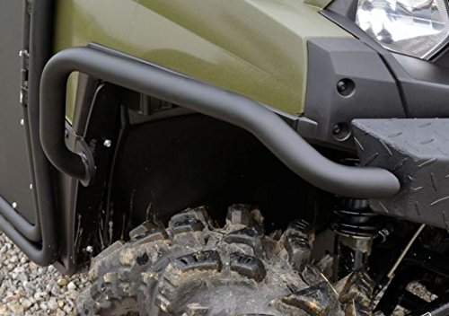 SuperATV Ranger Full Size XP 700/800 / Crew / 900 Diesel Curved Front Fender Protectors – Must have SuperATV's Front Brushguard!