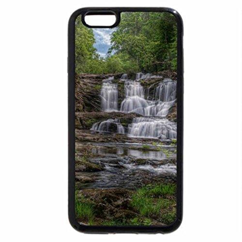 iPhone 6S / iPhone 6 Case (Black) Conasauga Falls