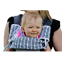Drool and Teething Pad Reversible Organic Cotton 3-Piece set for Ergobaby Fou...