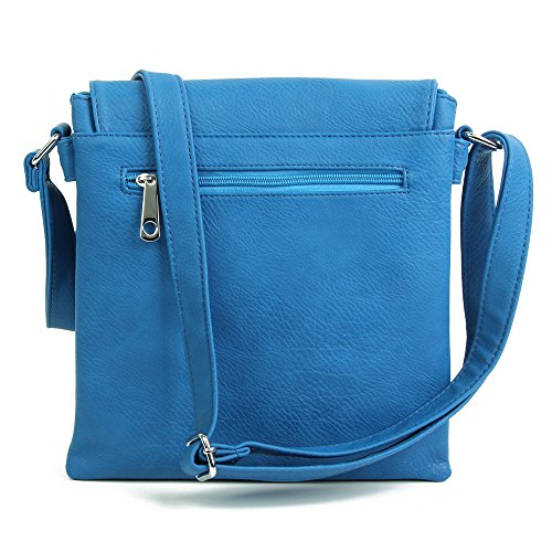 Green Craze Silver L'épaule London À Pour Sac Porter Trim Femme 001rq8