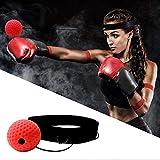¡¡¡El Mejor Regalo!!! Junshion 2019 Nuevo Boxeo Ponche Ejercicio Lucha Pelota Reactuar Bola Reflex Bola de Entrenamiento de Reacción de Boxeo Equipo de Fitness y Yoga