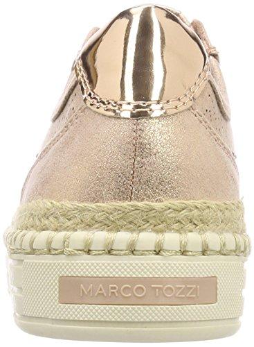 Marco Tozzi Mujer Metallic rose Rosa 23760 Para Zapatillas rrzSq