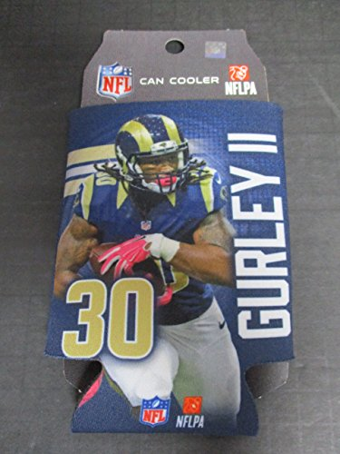2016 Los Angeles LA Rams Todd Gurley II NFL Football Can Cooler Made in America