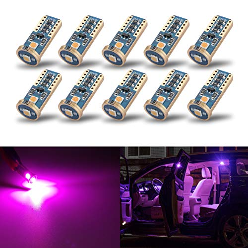purple led lights car - 5