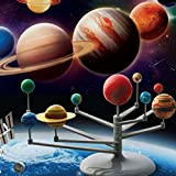 She-love Educational DIY Explore Nine Planets in Solar System Planetarium Painting Science Fair Project Teaching Toys for Children