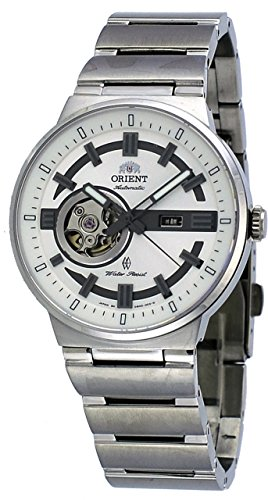 Orient #SDB0D003W Men's Eclipse Stainless Steel Partial Skeleton Automatic Watch