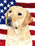 Cheap Caroline's Treasures SC9018GF USA American Flag with Labrador Flag, Small, Multicolor