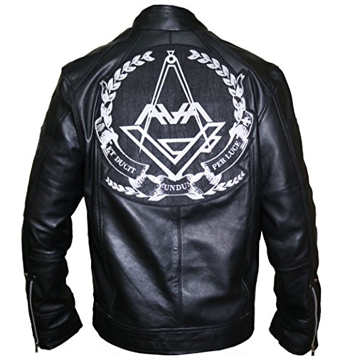 Angels and Airwaves Love Tom Delonge Sheep Leather Jacket,3XL. by The Jasperz (Image #5)