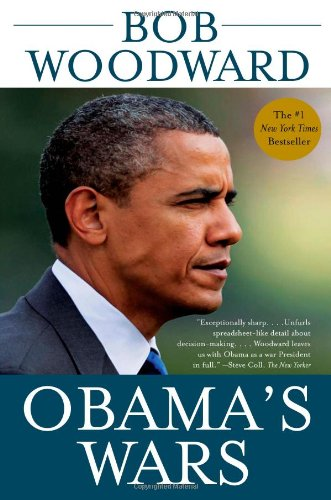 Book cover from Obamas Wars by Bob Woodward
