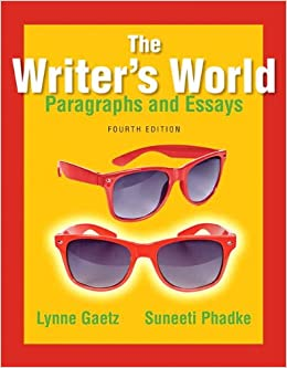 !EXCLUSIVE! The Writer's World: Paragraphs And Essays (4th Edition). Sueter latest Connect extended phrases CARDS Computer