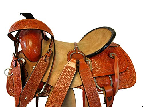 Orlov Hill Leather Co 15 16 Roping Ranch Pleasure Trail for sale  Delivered anywhere in Canada