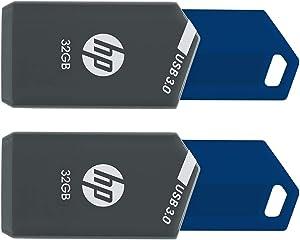 HP 32GB x900w USB 3.0 Flash Drive 2-Pack