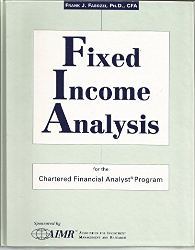 fixed income analysis Macro analysis and the activities of the various central banks are an important  foundation for all fixed income management for the credit team, a significant part .