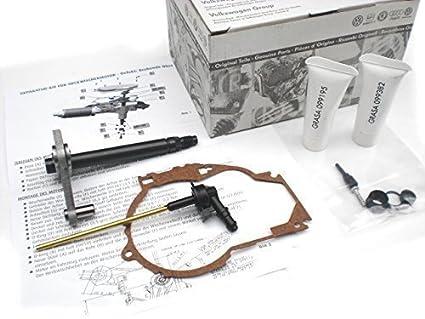 Original Volkswagen VW Piezas de repuesto VW Kit de reparación Motor del limpiaparabrisas trasero (zB