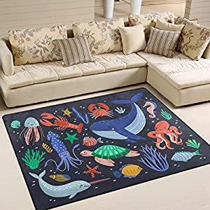 51s93aXVm7L._SS300_ 200+ Nautical Rugs and Nautical Area Rugs
