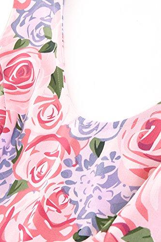 Anni la Estate per Babyonlinedress Hepburn Vestito Cerimonia Donna 50 Causale Donna Floreale Vestiti Vestiti 2XL Donna Elegante Mediavale Rinascimento Audrey Sera Vestiti S qqE84T