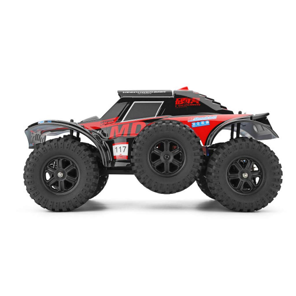 Hot  Wl 540 Brush Motor RC Off-Road Car 1:12 2.4G 4WD 60km/h High Speed Radio Remote Control Car Racing, RC Car Toys for Kids Age 8+ (red) by Hisoul (Image #6)