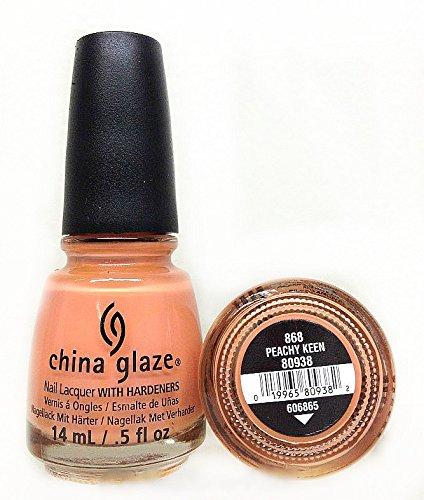 - China Glaze Nail Polish, Peachy Keen, 0.5 Fluid Ounce
