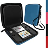 iGadgitz Blue EVA Hard Case Cover for Nintendo 2DS