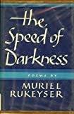 img - for The Speed of Darkness: [Poems] book / textbook / text book