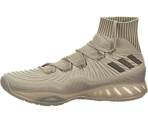 new product 21614 63aa6 Galleon - Adidas Crazy Explosive 2017 Primeknit Shoe Mens Basketball 8 Trace  Khaki-Cargo Brown-Linen Khaki