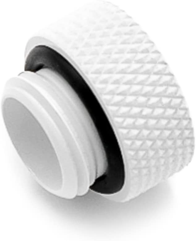 """Barrow G1/4"""" Male to Female Extender Fitting, 7.5mm, White"""