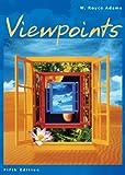 Viewpoints, W. Royce Adams, 0618261796