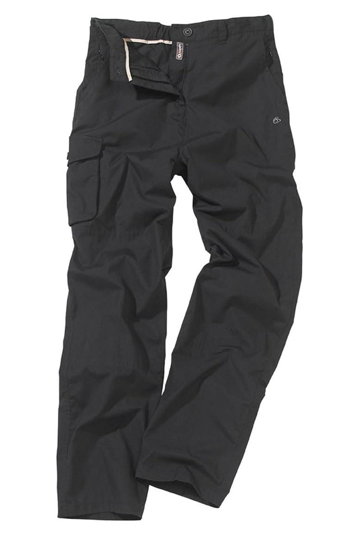 Craghoppers Mens Classic Kiwi Trousers Black 32R