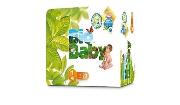 Baby Bio capas ecológicos desechables, biodegradables 20 UND: Amazon.es: Bebé
