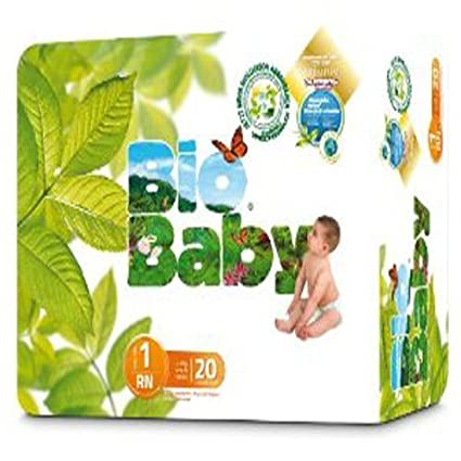 Baby Bio capas ecológicos desechables, biodegradables 20 UND