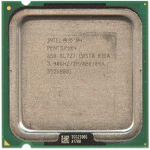 Intel Pentium 4 650 3.4GHz 800MHz 2MB Socket 775 CPU (4 Pentium Hyper Threading)