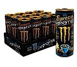 Espresso Monster Vanilla Cream, Espresso Energy Drink, 8.4 ounce (Pack of 12)