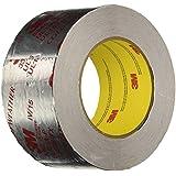 "3M Silver Foil Tape 3340, 2-1/2"" x 50 yd, 4.0 mil"