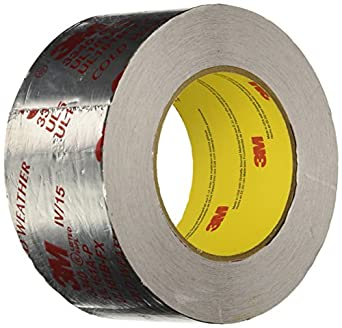 3m Silver Foil Tape 3340 2 1 2 Quot X 50 Yd 4 0 Mil Masking