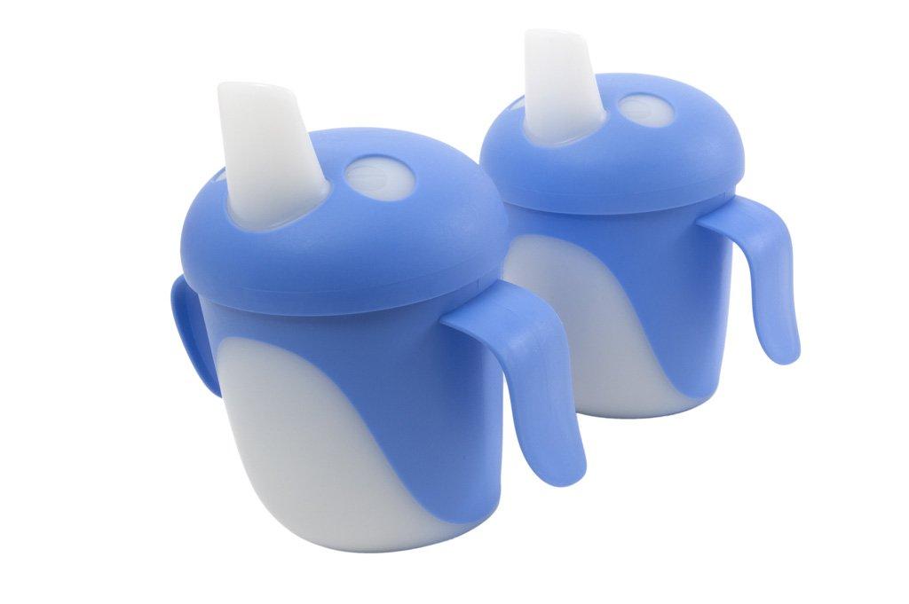 Anywayup Bird Cup (220 ml, Pack of 2, Blue) BC0B/2