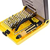 Smart Phone Repair Tool Kit - 45 In 1 Precision Magnetic Screwdriver Set for iPhone, iPad, Samsung Cell Phone,Tablet PC, Laptop,Computer and other Electronic Devices