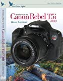 Blue Crane Digital Canon Rebel T5i/700D inBrief Laminated Reference Card (zBC554)