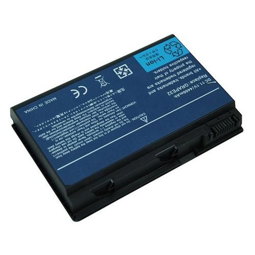 Battery for ACER TravelMate 5520G Series, 6 cells, 4400mAh, Black, Compatible Battery, 1 Year Warranty