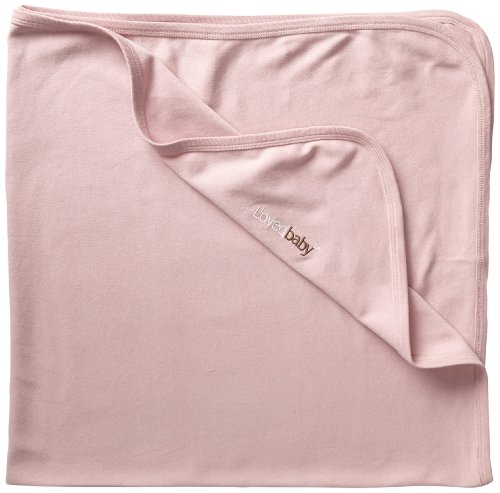 - L'ovedbaby Unisex-Baby Newborn Organic Swaddling Blanket, Mauve, one size