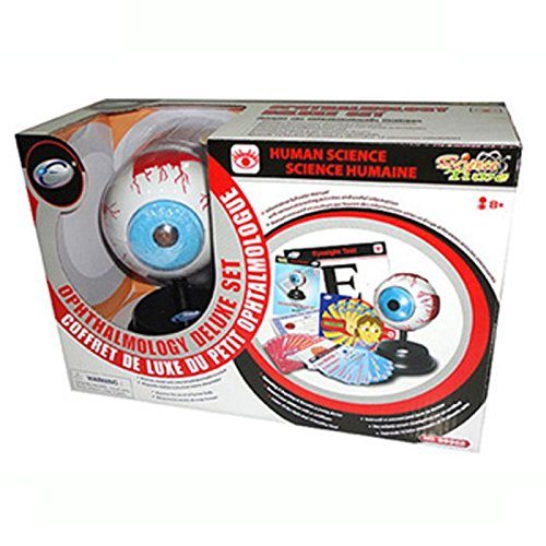 New Eastcolight Science Time Human Science OPHTHALMOLOGY Deluxe Set